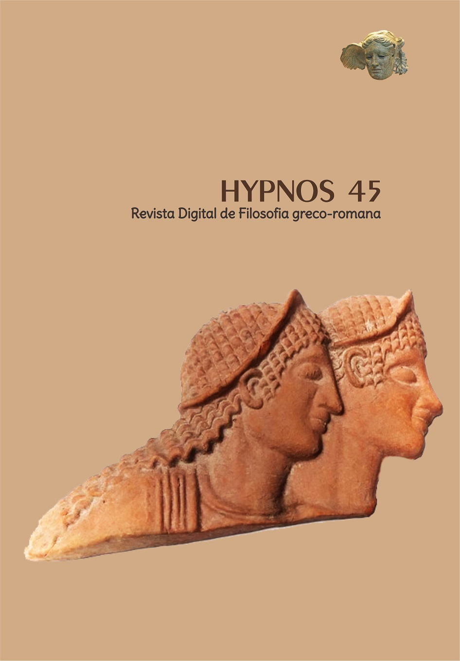 Capa: Cover: escultura antiga em terra cota